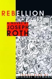 REBELLION by Joseph Roth