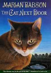 THE CAT NEXT DOOR by Marian Babson