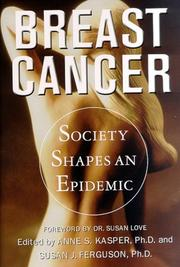 BREAST CANCER by Anne S. Kasper