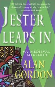 JESTER LEAPS IN by Alan Gordon
