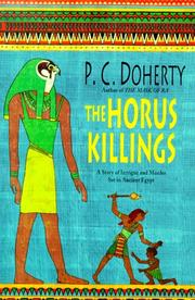 THE HORUS KILLINGS by P.C. Doherty
