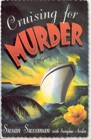 CRUISING FOR MURDER by Susan Sussman