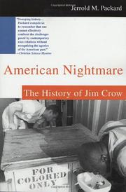AMERICAN NIGHTMARE by Jerrold M. Packard