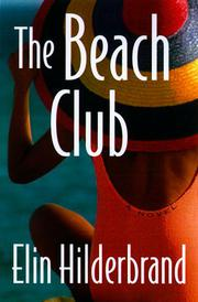 Book Cover for THE BEACH CLUB