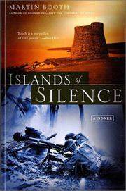 ISLANDS OF SILENCE by Martin Booth
