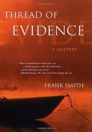 THREAD OF EVIDENCE by Frank Smith