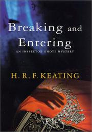 BREAKING AND ENTERING by H.R.F. Keating