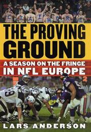 Book Cover for THE PROVING GROUND