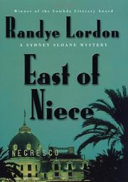 EAST OF NIECE by Randye Lordon