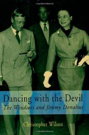 DANCING WITH THE DEVIL by Christopher Wilson