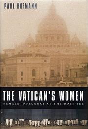 THE VATICAN'S WOMEN by Paul Hofmann