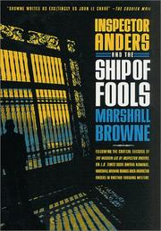 INSPECTOR ANDERS AND THE SHIP OF FOOLS by Marshall Browne