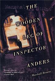 THE WOODEN LEG OF INSPECTOR ANDERS by Marshall Browne