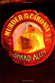 MURDER ON THE CARONIA by Conrad Allen