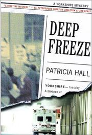 DEEP FREEZE by Patricia Hall