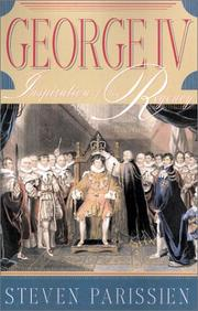 GEORGE IV by Steven Parissien