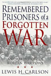 Cover art for REMEMBERED PRISONERS OF A FORGOTTEN WAR