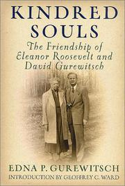 KINDRED SOULS by Edna P. Gurewitsch