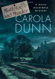 MISTLETOE AND MURDER by Carola Dunn