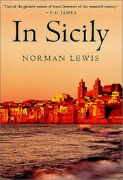 IN SICILY by Norman Lewis