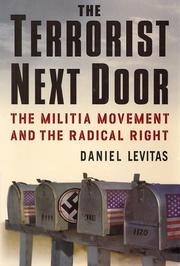 THE TERRORIST NEXT DOOR by Daniel Levitas