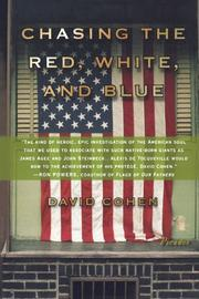 """""""CHASING THE RED, WHITE, AND BLUE"""" by David Cohen"""