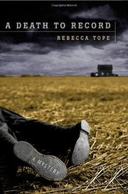 A DEATH TO RECORD by Rebecca Tope