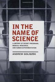 IN THE NAME OF SCIENCE by Andrew Goliszek