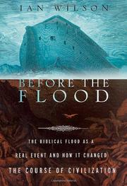 BEFORE THE FLOOD by Ian Wilson
