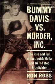 BUMMY DAVIS VS. MURDER, INC. by Ron Ross