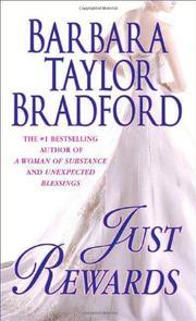 JUST REWARDS by Barbara Taylor Bradford