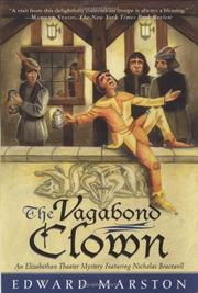 THE VAGABOND CLOWN by Edward Marston