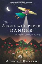 Cover art for THE ANGEL WHISPERED DANGER
