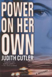 POWER ON HER OWN by Judith Cutler