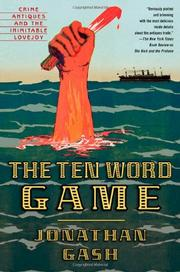 THE TEN WORD GAME by Jonathan Gash