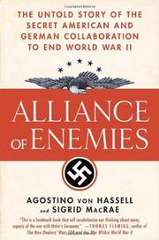 ALLIANCE OF ENEMIES by Agostino von Hassell