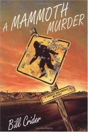 Cover art for A MAMMOTH MURDER