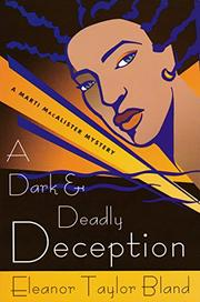 Cover art for A DARK AND DEADLY DECEPTION