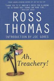 """AH, TREACHERY!"" by Ross Thomas"