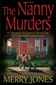 Cover art for THE NANNY MURDERS