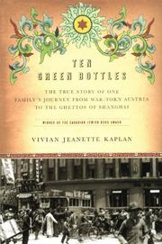 TEN GREEN BOTTLES by Vivian Jeanette Kaplan