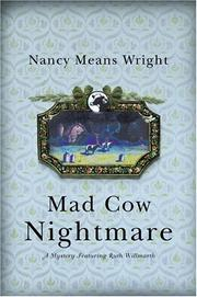 MAD COW NIGHTMARE by Nancy Means Wright