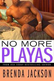 NO MORE PLAYAS by Brenda Jackson