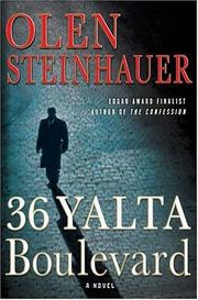 Book Cover for 36 YALTA BOULEVARD