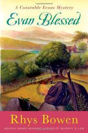 EVAN BLESSED by Rhys Bowen