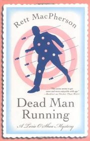 Cover art for DEAD MAN RUNNING