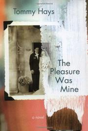 Cover art for THE PLEASURE WAS MINE