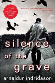 Book Cover for SILENCE OF THE GRAVE