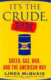 Cover art for IT'S THE CRUDE, DUDE