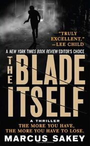 Cover art for THE BLADE ITSELF